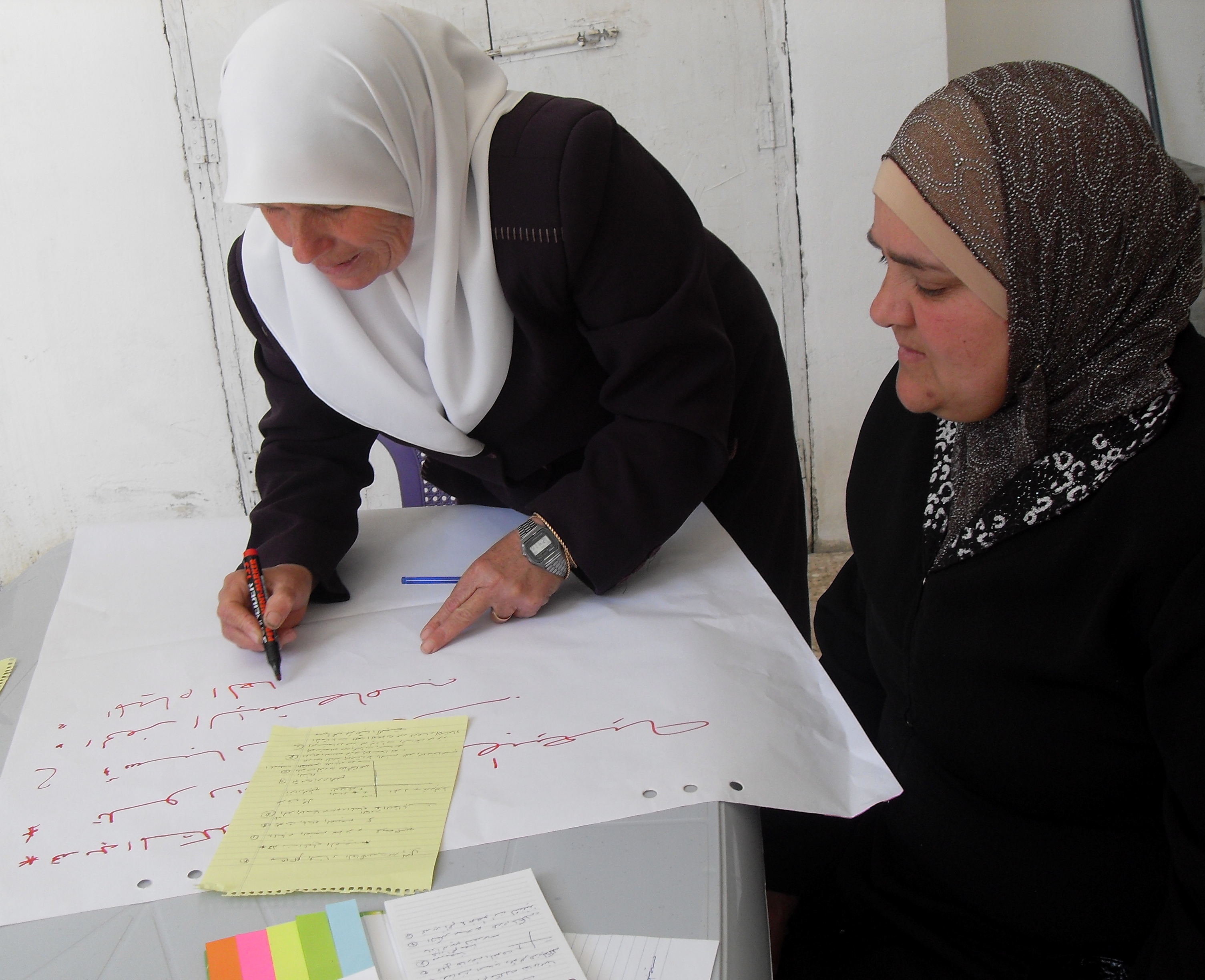 Can allies help Palestinians to reform aid? How?