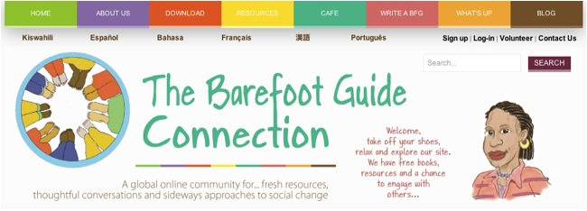 Thoughtful Conversations & Sideways Approaches: The Barefoot Guide Connection