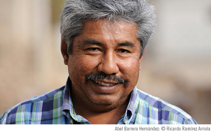 Abel Barrera Hernández, Founder and Director of the Center for Human Rights of the Mountain of Tlachinollan in Guerrero, Mexico