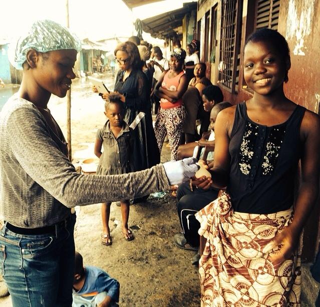 Photo courtesy of The Coalition To End Ebola via GlobalGiving.org