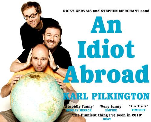 """An Idiot Abroad"" on Geldof"