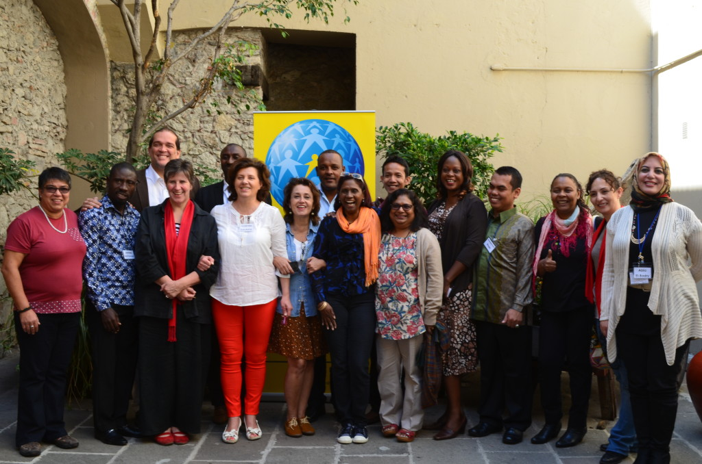 Members of the Family for Every Child global alliance meet in Puebla, Mexico in March 2015. Photo courtesy of Family.