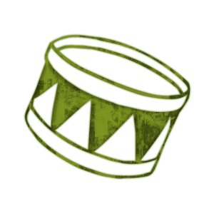 000852-green-grunge-clipart-icon-media-music-drum1-sc44